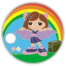 Pathtag  23040  -  Batgirl  MWGB  -geocaching/geocoin/  *Retired- Only 50 Made*
