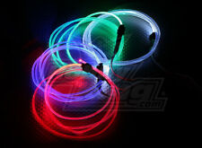 GREEN FIBER-OPTIC LIGHTS 4 NIGHT FLYING RC HELICOPTER QUADCOPTER CAR TRUCK NEON
