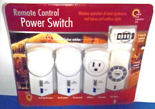Winplus Ac51530-140 Remote Control Power Switch Set Wireless New Sealed