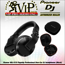 Pioneer HDJ-X10-K Flagship Professional Over-Ear DJ Headphones 5Hz-40Hz (Black).