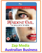 Resident Evil Box Set DVDs & Blu-ray Discs