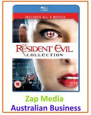 Resident Evil Horror Thriller DVDs & Blu-ray Discs