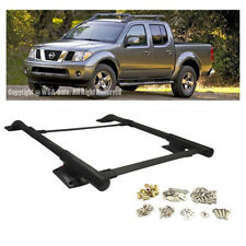 For 05-14 Frontier 4DR Crew Cab Only OE STYLE Black Roof Rack Rail Cross Bar