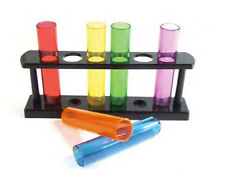Pride Shack - Lesbian Gay Rainbow Test Tube Shot Glasses Gift Set Party Supplies