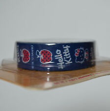 Hello Kitty Patterned Washi Tape Decorative Scrapbooking 45ft Blue