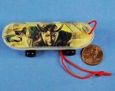 MARVEL SUPERHERO Avengers Skateboard Fingerboards Grab Zags LOKI Modell K1026_G