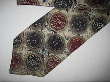 55 x 3.75 Blue Red SILK Tie Necktie Robert Stock (1451) ~  FREE US SHIP