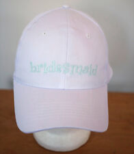 BRIDESMAID Wedding Bridal Party Shower Cotton Baseball Hat One Size Elastic Back