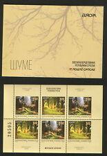 BOSNIA-SERBIA-MNH-BOOKLET-EUROPA CEPT-FAUNA-BIRDS-2011