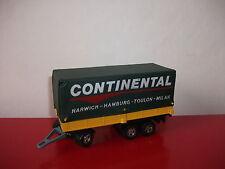 (16.1.16.1) Camion truck K 21 trailer Continental Matchbox