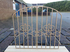 12th Scale Wrought Iron Effect Gate - (Design 5)