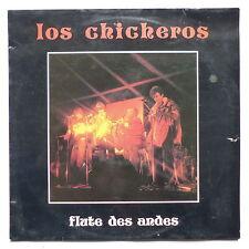 LOS CHICHEROS Flute des Andes AM 8305 Dédicacé des 4 artistes derriere