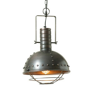 Irvins Country Tinware Warehouse Dome Light Pendant