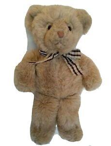 """Vtg Russ So Soft Teddy Plush Bear #4607 18"""" Stuffed Toy Korea K-12 Berrie"""