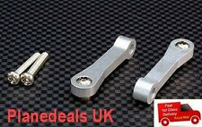Alloy UPGRADE Front Upper Suspension Arm For Tamiya CC01 (1 pair ) BL or SIL L16