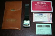 CASIO GD-9 (CAR RACE GAME) - VERY RARE '80s WATCH (MADE IN JAPAN)