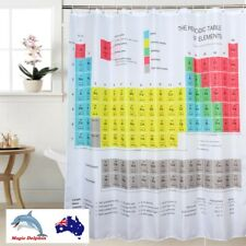 Shower Curtain Big Bang Theory Periodic Table of Elements Polyester Fabric TBBT