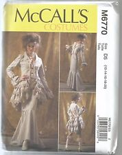 McCalls Sewing Pattern 6770, Steampunk Jacket, Skirt, Pants, Adult 12 - 20, New