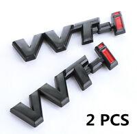 High Quality 3D VVTI VVT-I Emblem Logo for Toyota Car Boot Fender Badge Sticker