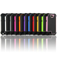 Heavy Duty Hybrid Rugged Hard Case Cover For Samsung Galaxy Note 2 N7100 Rubber