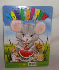Tons of Fun Mouse Picnic Tray Puzzle Paradise Press