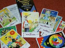 Parrott Tarot Deck -- colorful and updated Tarot, with four extra cards     TMGS
