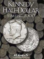 H.E. Harris Kennedy Half Dollar Coin Folder Book #3 Starting 2000 #2942