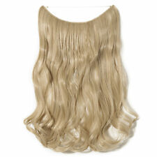 US Premium Secret Wire in full head Hair Extensions As Human Hairpiece Brown New