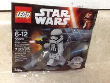 Lego Star Wars First Order Stormtrooper Minifig 30602 Christmas Stocking Stuffer