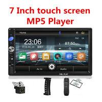 Car radio 2 din 7inch MP5 player Bluetooth FM/TF/USB Video with Rear View Camera