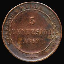 5 CENTESIMI 1859 TOSCANE ITALIE / ITALIA TOSCANA