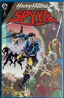 Spyke Heavy Hitters July Vol 1 No 1 1993 Comic Book Epic Comics FN Condition