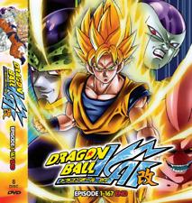 DVD - Dragon Ball KAI ( Episode 1 - 167 End ) - English Dubbed - All Region