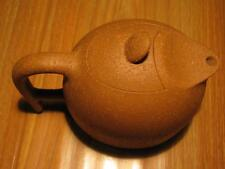 EXCELLENT 12.7cm CHINESE YIXING ZISHA DUAN NI FAMOUS SCHOLAR CARVED TEAPOT