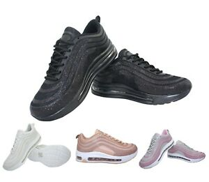 Womens Running Trainers Sport Fitness Shock Absorbing Lace-up Sneakers Ladies UK