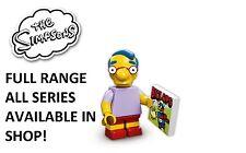 LEGO MINIFIGURES MILHOUSE VAN HOUTEN SIMPSONS 1 (71005) Nuovo Sigillato in Fabbrica