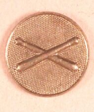Army Enlisted Collar Pin: Field Artillery - Wwi/1920's era, gilt