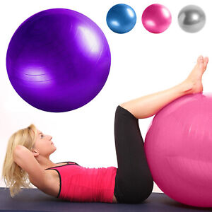 Exercise Gym Yoga Swiss Ball Anti Burst Fitness Pregnancy Stability 25cm & 65 cm