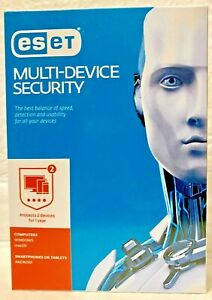 ESET Multi Device Security - 2 Device / 1 Year PC or MAC. (Product Key Card)