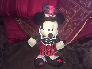 """OFFICIAL DISNEY HALLOWEEN MICKEY MOUSE 12"""" SOFT TOY PLUSH VGCC"""