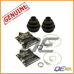 2 Rear Outer BMW 323i 328is 525i 530i Z4 CV Joint Boot Kits Genuine 33211229376
