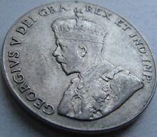 1927 Canada 5 Cents - XF- (VF+++) - KM# 29