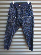 Mercibeaucoup Women's Blue Back To Front Jeans / Trackies Size 3 Stretch  Waist