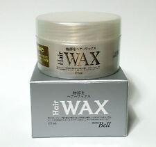 BIG SIZE HAIR STYLING WAX MEN ULTRA HARD HOLD NOT OILY MATT TEXURE 175ml 6.17oz