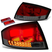 FOR 00-06 AUDI TT TYN 8N MK1 PQ34 SMOKED RED LENS HOUSING LED BRAKE TAIL LIGHTS