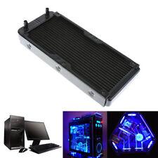 240mm18 Rohre Aluminium Computer Wasserkühlung Kühler Kühlkörper PC CPU Radiator