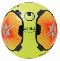 Uhlsport Fußball Elysia Ball Spielball fluo gelb rot marine Gr 4