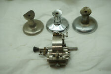 VINTAGE WATCH REPAIR TOOLS LATHE PARTS LOT WATCHMAKER CLOCKMAKER JEWELER