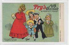 FRY'S MILK CHOCOLATE: advertising postcard (C29904)