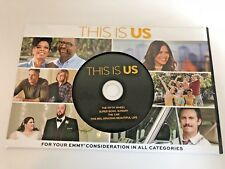 THIS IS US 4 Episode Screener SUPER BOWL SUNDAY, THE CAR 2018 NBC Emmy FYC DVD!